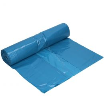 Container bags 65/25 x 140cm 70mu blue