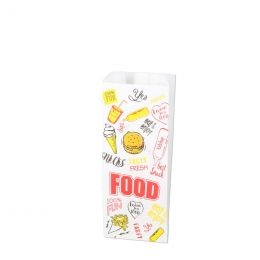 Snack bags Fast Food 250g no 25 perfo