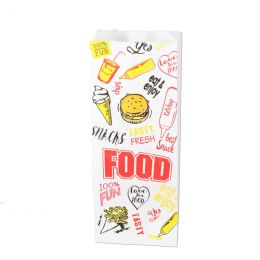 Snack bags Fast Food 500g no 27 perfo