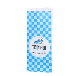 Sachet en papier anti-graisse pour poisson 450gr n° 27 Tasty Fish