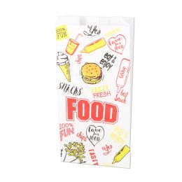 Snack bags Fast Food 1000g no 28 perfo