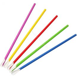 Pailles cuillère en papier BIO 6mm x 240mm Bright Colours
