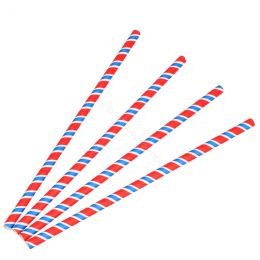 BIO Cardboard straws 8mm x 230mm Twist