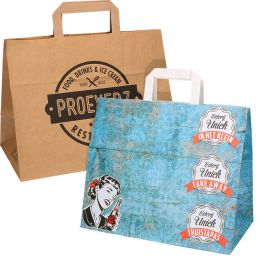 Paper Carrier bags printed with your logo!