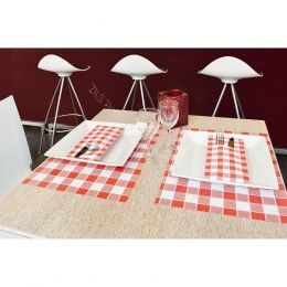 Placemats Vichy Red (large check)