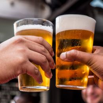 Verre à pinte de bière incassable et durable 570ml
