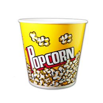 Popcorn containers (bucket) medium 1380ml