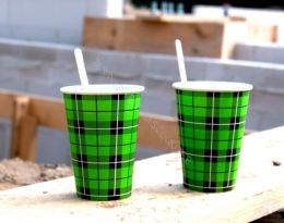 Biodegradable paper cups printed with your logo!