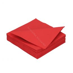Serviette en papier DiDi 33cm Rouge 2 couches