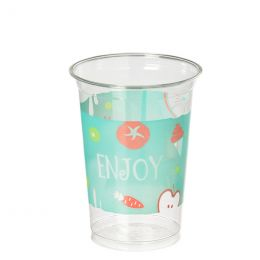 Smoothie Cup medium/large 400-550ml 16oz Enjoy