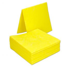 Cleaning cloths HACCP non-woven Yellow