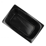 Bac 1/4 Gastro 265x160x100mm noir