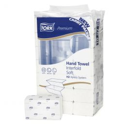 Tork Hand Towel Interfold extra soft 2-ply H2 100288
