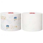Tork Soft Mid-sized Toilet Roll 2-ply Premium T6 127520