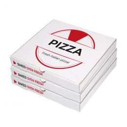 Pizza boxes printed with your logo!