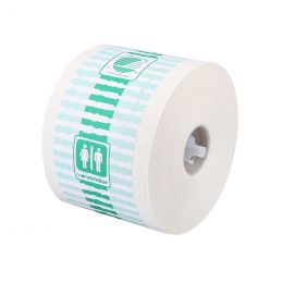 Vendor Toilet roll 1253 crepe with insert 1-ply