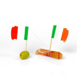 Cocktail stick with Italy flag