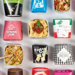 Noodle boxes printed with logo!