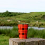 Kaffeebecher Schottenkaro Scotty 180ml