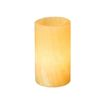 Led Duni Candleholder Stone Mineral Onyx
