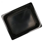 PP 1/2 Gastro-Thermoschalen 325x265x80mm schwarz