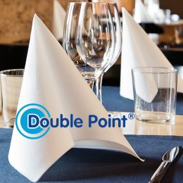 Double Point & Like Linen Servietten bedruckt mit Ihrem Logo!
