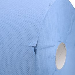 Industriepapier schwere Qualität 22cm x 360m 3-lagig blau