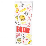 Snacktüten Fast Food 1500g Nr. 29 perforiert