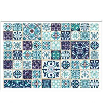 Platzdeckchen Mosaik Blau