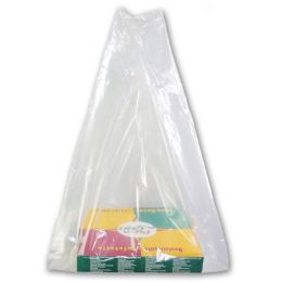 Pizzakarton Plastiktragetasche transparent (Shopper)