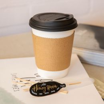 Bechermanschette Kraftpapier für 300ml 350ml und 450ml Kaffeebecher