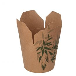 Wok-to-go-Becher Green Leafs 780ml