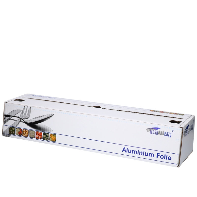 Abbildung von Aluminium foil rolls in dispenser 50cm