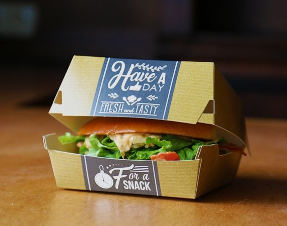 Fresh & Tasty cardboard Trays in natron kraft look!