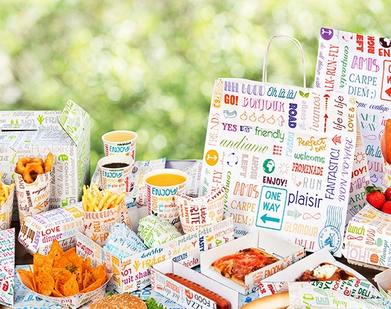 Fresh and Cheerful Packaging: Snack line Parole!