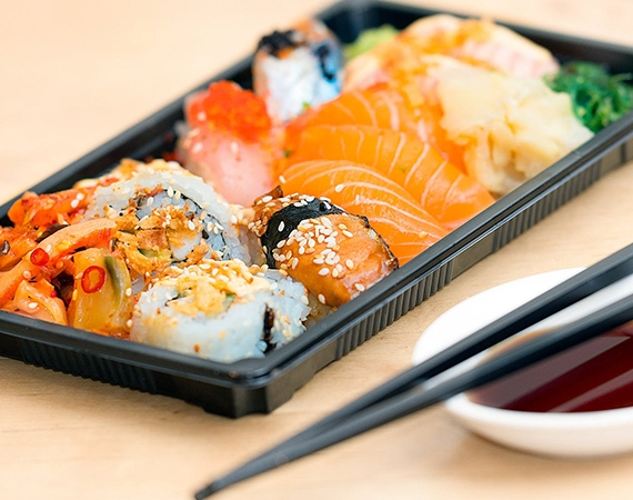 Pack your Sushi Creations in a fantastic way!!