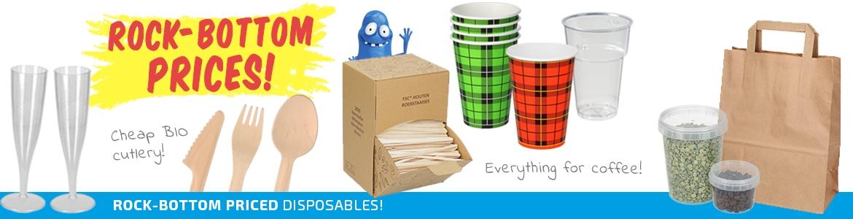 Cheap Disposables