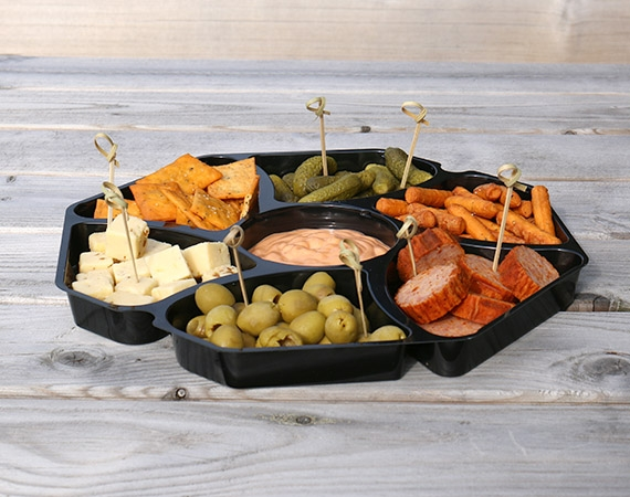 A really nice tray to present your lovely food snacks!