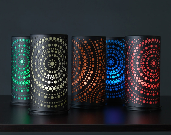 For the ultimate atmosphere: Duni LED candleholders!
